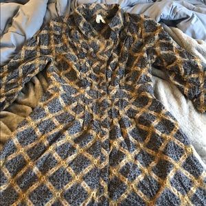 Maeve corduroy shirt dress, 4